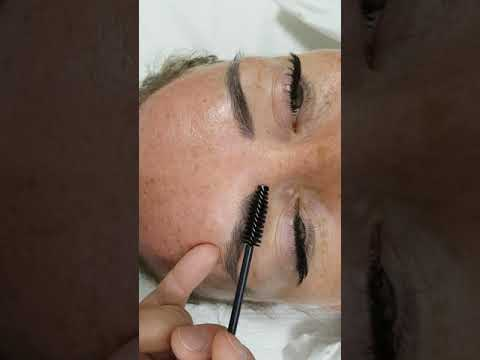 Realism Healed 3D Eyebrows Microblading by El Truchan @ Perfect definition
