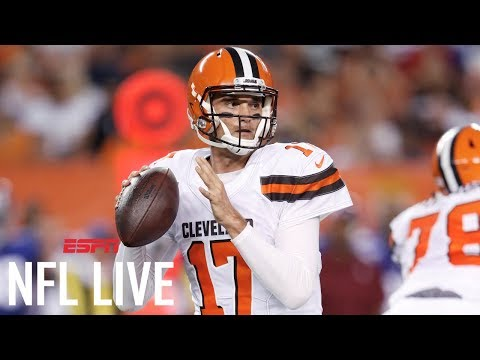 End of the road for Brock Osweiler as a starter? | NFL Live | ESPN