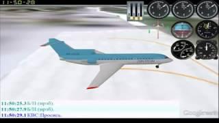 Расшифровка переговоров гибнущего Як 42 / Yak-42. Flight records.