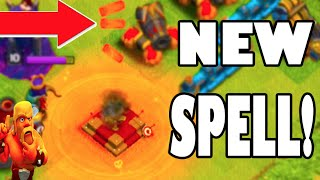 "Clash of Clans - NEW ""DARK ELIXIR SPELL FACTORY"" + NEW POISON SPELL & Pre Cookable Spells FINALLY!"