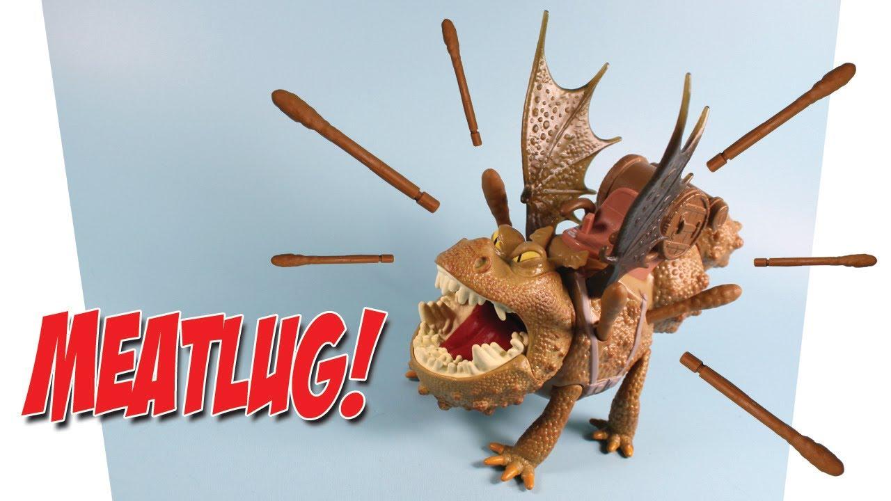 How To Train Your Dragon 2 Meatlug Power Dragon Spike Blast