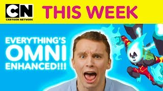 Ben 10 Gets BEN-TENSE | Cartoon Network This Week