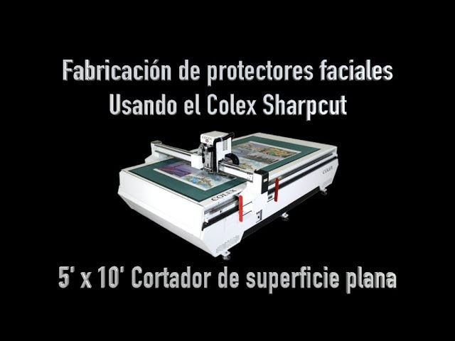 Manufacturing Face Shields (Spanish)