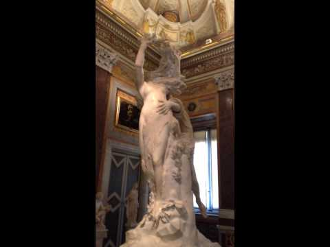 Rome: Apollo and Daphne by Bernini in Galleria Borghese
