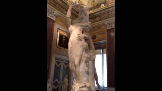 Rome: Apollo and Daphne by Bernini in Galleria Borghese