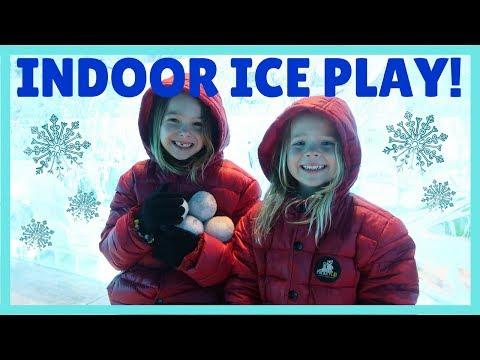❄️ VLogging from Polar Play ☃️ A Fun Phoenix Kids Indoor Ice Park !!!