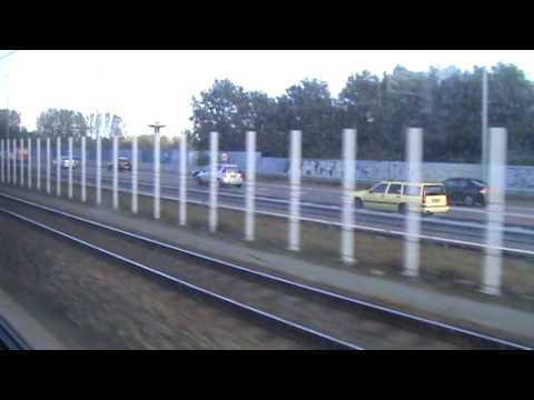 NS Sprinter Train Ride From Amsterdam Schiphol Airport To Amsterdam Zuid Station