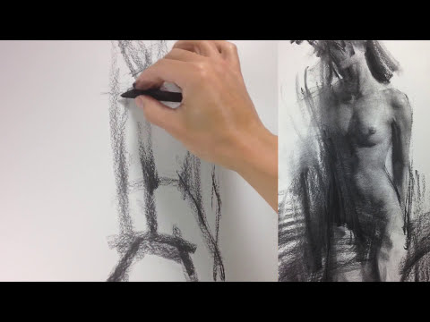 Figure Drawing : Rendering Torso.