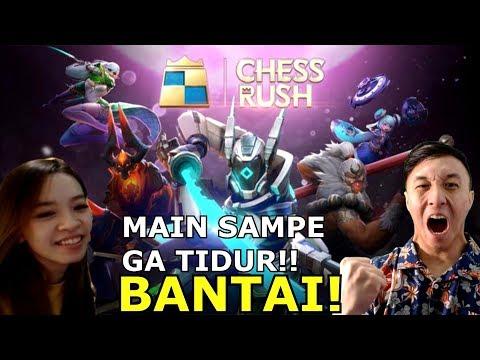 KEJENIUSAN GW MEMBANTAI SEMUA MUSUH COK! - Chess Rush Indonesia