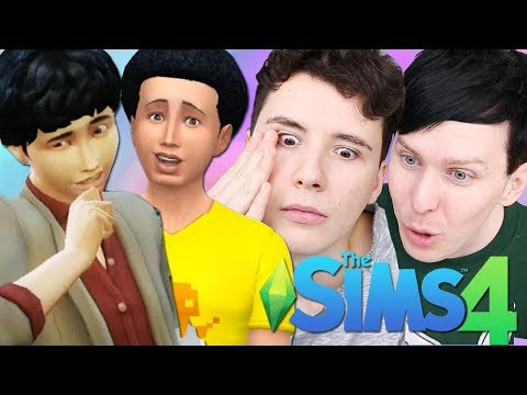 TEENAGE ANGST TIME  Dan and Phil Play: Sims 4 49