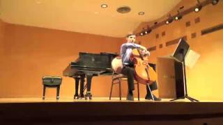 Eliot Haas: Britten, Suite No. 1 for Cello Solo