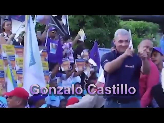Yomare Polanco con Gonzalo Castillo