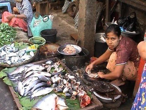 Burma myanmar yangon theingyi market youtube burma myanmar yangon theingyi market thecheapjerseys Images