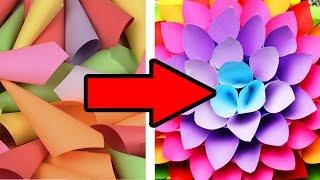 DIY БЮДЖЕТНЫЙ ДЕКОР КОМНАТЫ ТОЛЬКО ИЗ БУМАГИ / Room decor / Оригами / СВОИМИ РУКАМИ