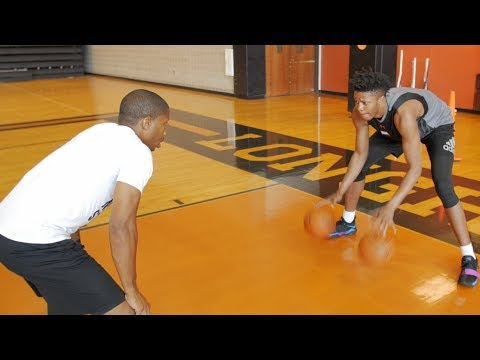 NBA Draftee Justin Patton Official Workout With FMF Trainer Nick Stapleton