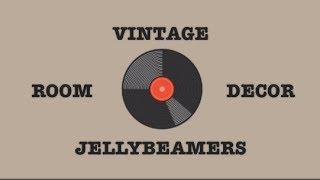 DIY Vintage Inspired Room Decor #3 | Haley & Bronwen | Jellybeamers