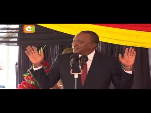 Kenyatta describes Maraga ruling as 'judicial coup'