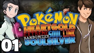 CHOOSE OUR STARTERS! | Pokemon HeartGold/SoulSilver Extreme Randomizer Soul Link Part 1!