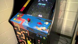 Namco 20 Year Reunion Arcade Cabinet Review - Ms. Pac-Man, Galaga, and Pac-Man - 1981