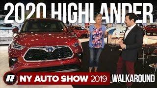 2020 Toyota Highlander walkaround | New York Auto Show 2019