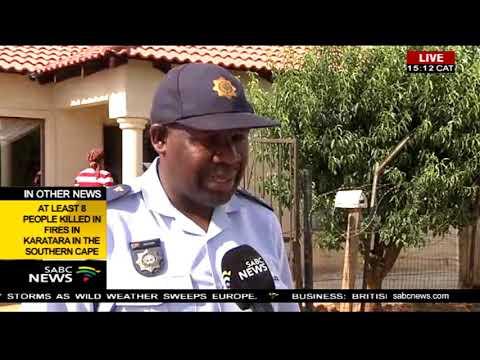 Police investigate Vlakfontein murders