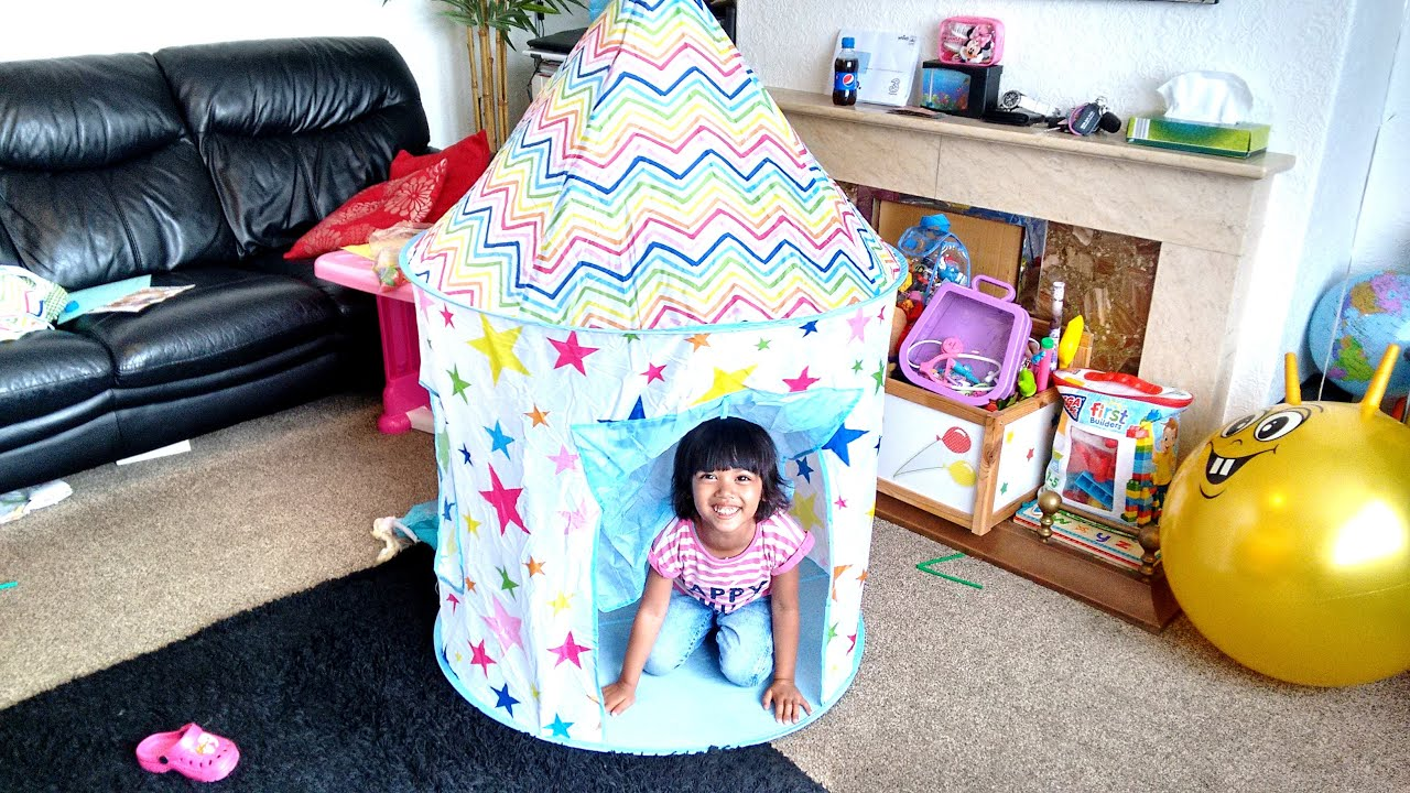 Stars and Chevron Kids Play Tent | Pop-up Tent | Playtime | C& & Stars and Chevron Kids Play Tent | Pop-up Tent | Playtime | Camp ...