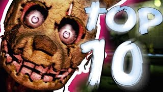 Top 10 FNaF Songs/SFM