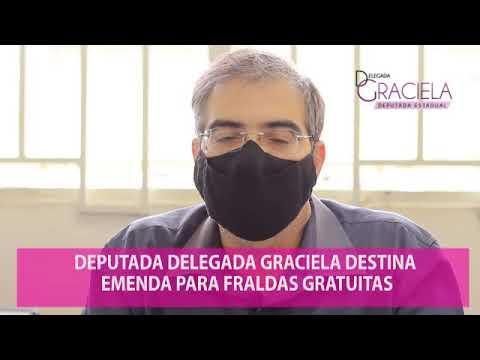 Deputada Graciela destina 50 mil fraldas geriátricas para Franca.