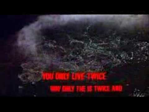 007 You Only Live Twice(1967) - Title Song