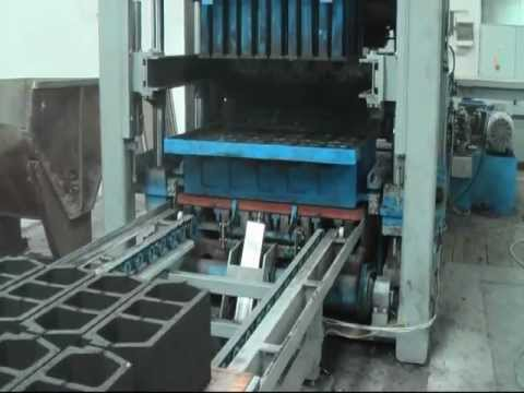 Fully Automatic Concrete Block Making Machine Stl 1000