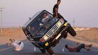 Epic 2 Wheel Car Stunts - Funny Stunts, Crazy Stunts Gone Wrong