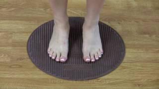 foot reflexology at home in 2 minutes a day reflexology exercise mat circulator foot massage mat