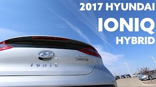 2017 Hyundai Ioniq Hybrid Hands On First Look смотреть