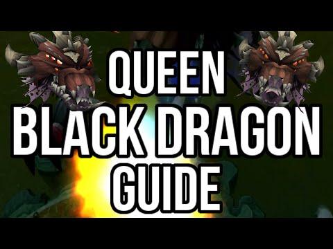 Queen Black Dragon Guide UPDATED: 4-7M per Hour Money Making [Runescape 2015]