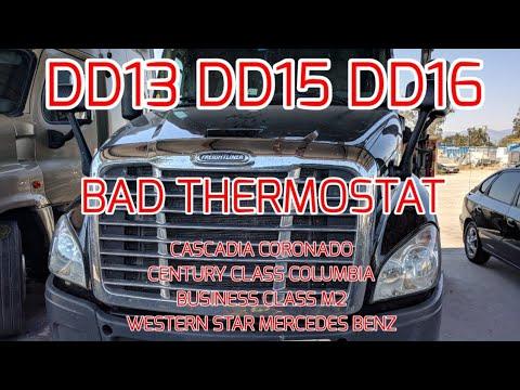 freightliner-cascadia-dd13-dd15-dd16-overheating-bad-thermostat-stuck-close