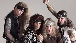 "Steel Panther ""Behind the Scenes"" - ""All You Can Eat"" Album Photo Shoot"