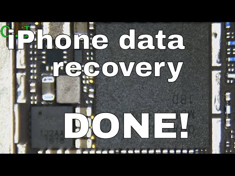 iPhone data recovery after water damage