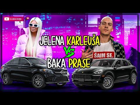 JELENA KARLEUŠA vs BAKA PRASE (Macan vs Mercedes AMG GLE)