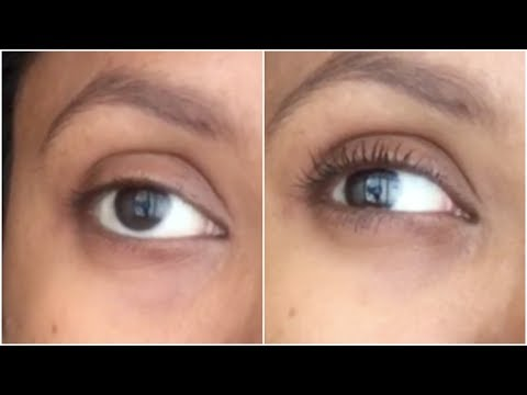 How to Apply Mascara in 10 seconds For Beginners || Sireesha