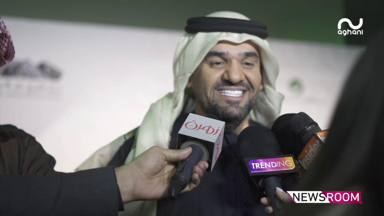 حسين الجسمي وبلقيس فتحي وكواليس حصرية من حفلهما في فبراير الكويت!