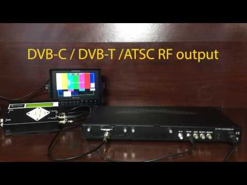 QuestTel 1-4 Ch HD-SDI to QAM RF Modulator with IPTV and ASI