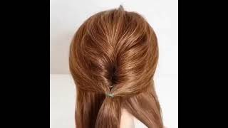 Самая идеальная прическа для коротких волос Женская прическа Укладка волос Легкие прически