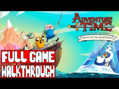 ADVENTURE TIME PIRATES OF THE ENCHIRIDION Full Game Walkthrough - No Commentary (#AD Game) 2018