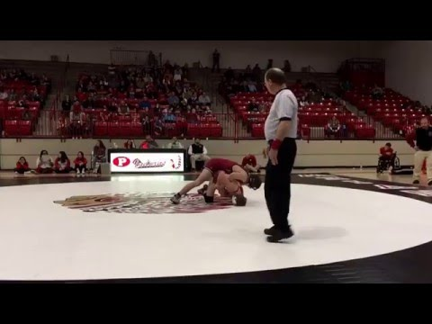 138: Maddy Roney, Plainview vs. Tanner Litterell, Tuttle
