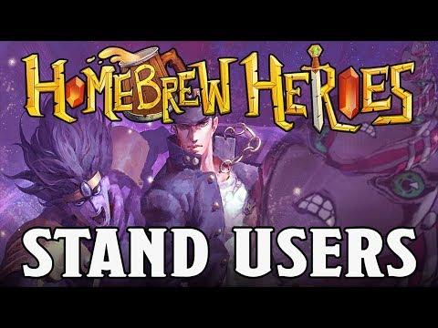 Homebrew Heroes- DND 5e Stand User Subclasses (Based on Jojo's Bizarre Adventure!)