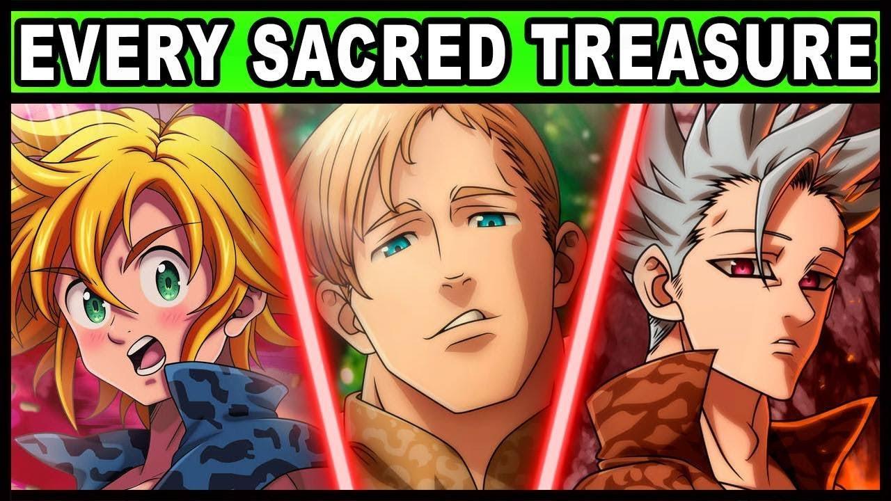All 7 Sacred Treasures and Their Powers Explained! (Seven Deadly Sins / Nanatsu no Taizai)