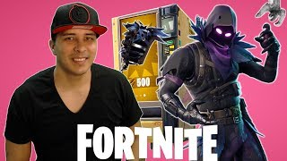 Fortnite Battle Royale! Xbox One! New Raven Skin & New Vending Machines!? 🔴LIVE#125