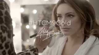 Kelly Brook & #HTCM9Gold: Going for Gold