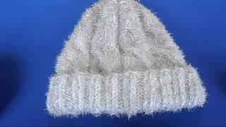 Как я вязала шапочку / Схема вязания спицами