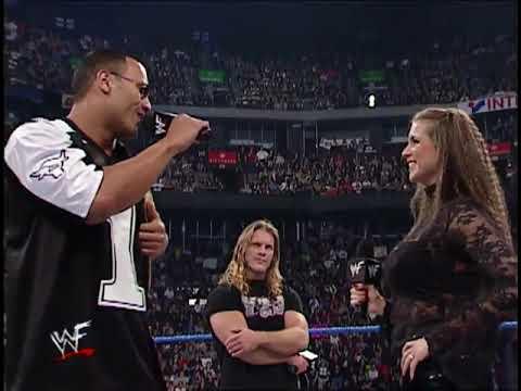 Download The Rock | Chris Jericho and Stephanie McMahon Segment Part 2